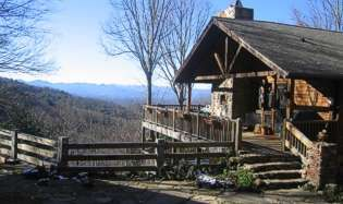 Asheville Mountain Vista extension of Oakland Cottage B&B. Cabin Rental Asheville, Asheville Cabins, Asheville NC Vacation Rentals