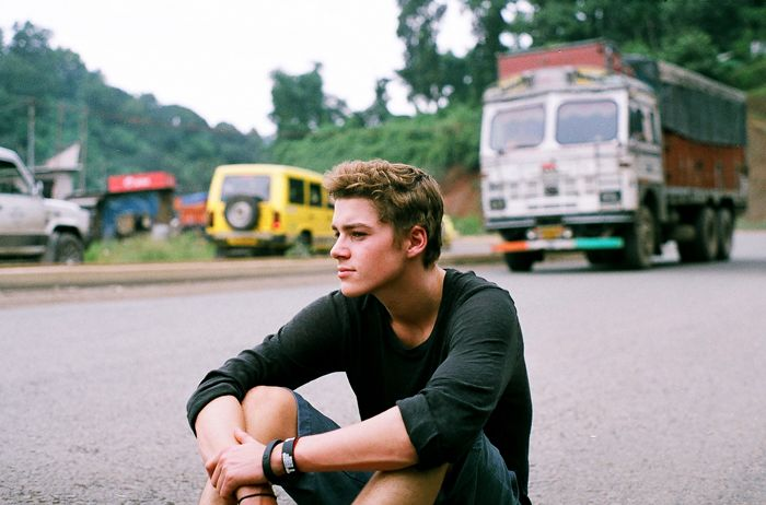 Jack Harries - photographed by Harry Crowder