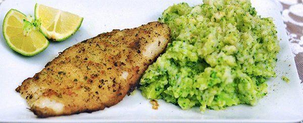 Diner voor één: Pangasiusfilet met broccolistamppot