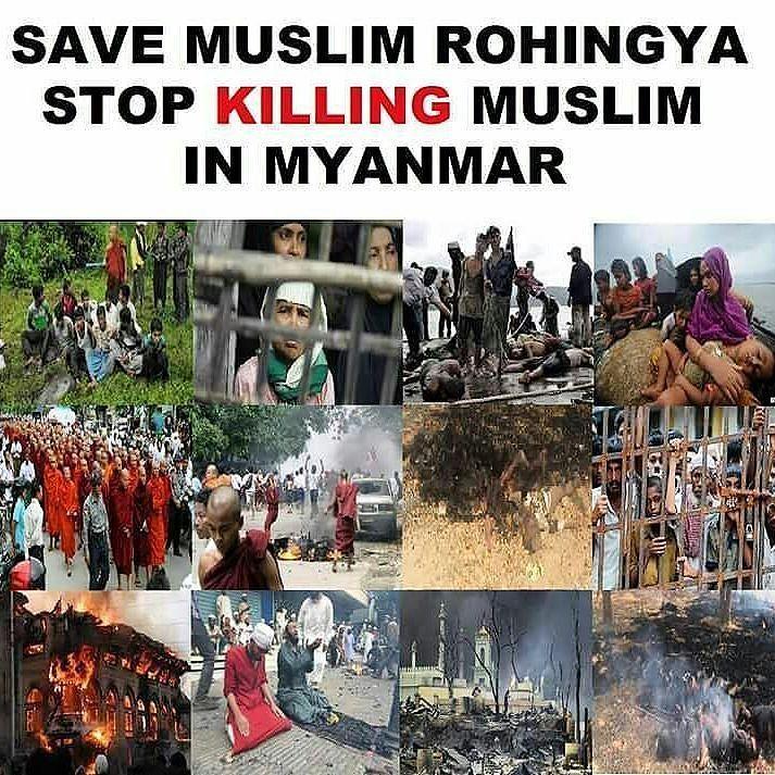 SAVE MUSLIM ROHINGYA STOP KILLING (GENOCIDE) MUSLIM IN MYANMAR  Pembunuhan dan Pembantaian massal (Genosida) Etnis Muslim Rohingya di Myanmar / Burma terus terjadi sampai saat ini.  Tapi semua media mainstream dan para aktivis HAM dunia seakan mendadak Tuli dan Buta jika korbannya adalah kaum Muslim.  Hasbunallah wanimal wakil nimal mawla wanimal nasir... .  Inilah Bukti Bahwa Ummat Islam Butuh Pemersatu yang Tidak Terpisah dengan Faham Nasionalisme yang Mengkotak-Kotak Ummat! .  Apakah…