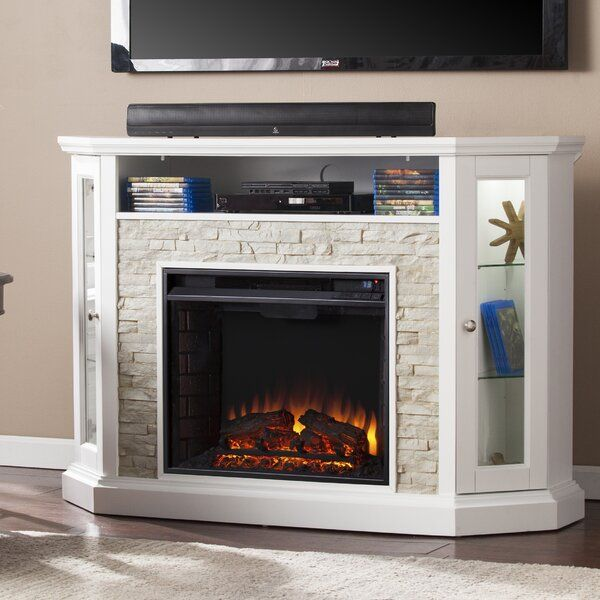 Upgrade From A Mundane Space Heater To This Media Fireplace In Your Living Room Dining Room Or Entry Parlor P Electric Fireplace Fireplace Fireplace Tv Stand #space #heater #for #living #room