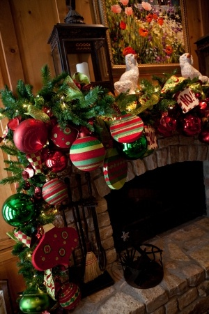 How to decorate a mantel -  you are all over this right, @Lynn McClary?