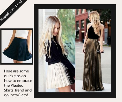 How To Embrace the Pleated Skirts Trend