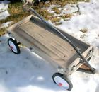 Vintage wooden childrens' toy ride or pull wagon - http://hobbies-toys.goshoppins.com/outdoor-toys-structures/vintage-wooden-childrens-toy-ride-or-pull-wagon/