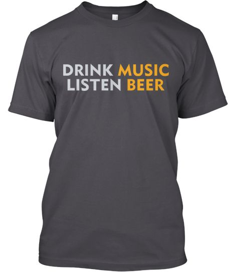 Drink while listen limited edition | Teespring