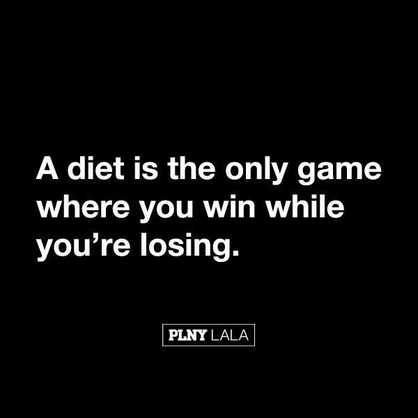 losing weight , game