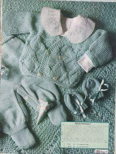 Um blogue sobre receitas de tricô.