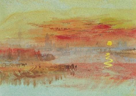 William Turner, « peintre de la lumière » le maître de l'aquarelle anglaise
