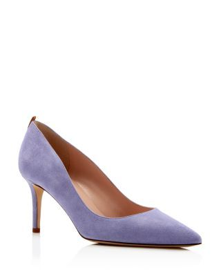 SJP by Sarah Jessica Parker Fawn Pointed Toe Mid Heel Pumps | Bloomingdale's