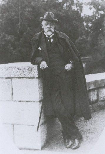 Baron Otto von Trenzē in old age