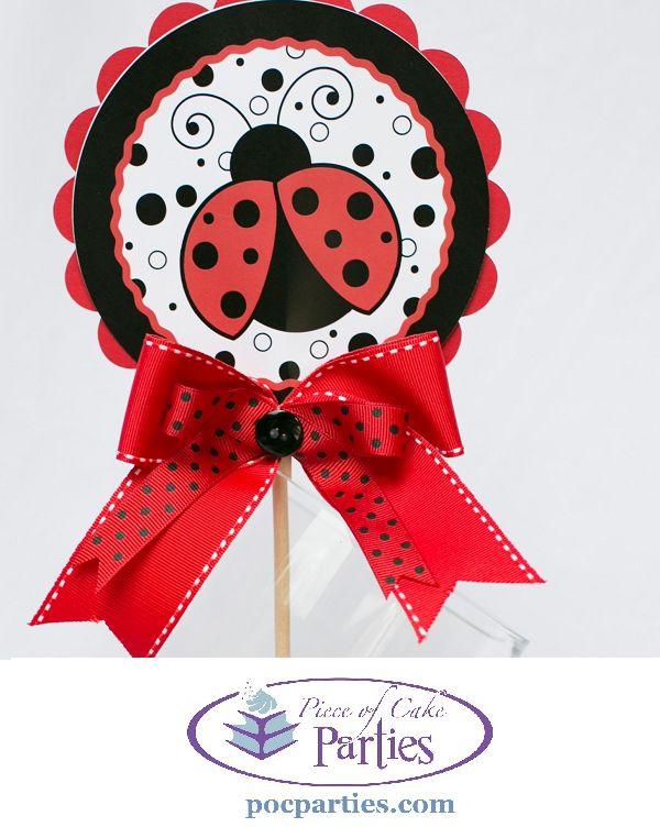 Find This Pin And More On ~ LadyBug Theme Baby Shower ~ By Alldiapercakes.