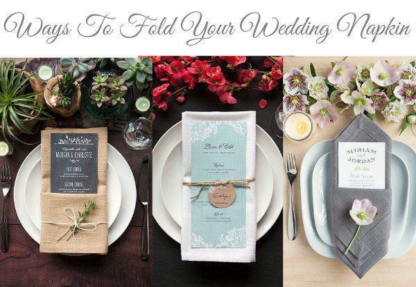 Add a little extra dash of style to your wedding table with this easy step-by-step guide for folding your wedding napkins. We are so thrilled to feature thesewonderful ideas thanks to our friends at Everminewhere not only will you find fun ideas and details but you can also shop for wonderful items for your wedding. See more from our rustic wedding DIY section for great DIY wedding projects.  1. The Single Pocket Fold The single pocket fold is very versatile. It creates a perfect spot to…