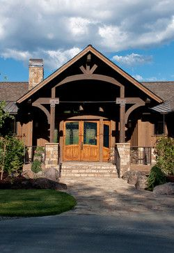 home exteriors ranch style exterior ranch style design ideas pictures remodel and decor - Western Design Homes