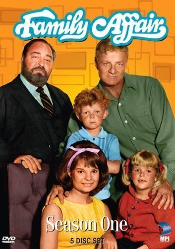 Family Affair, one of my favorites growing up, remember Mrs. Beasley?!