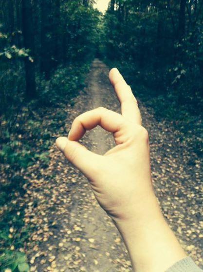 bieg po lesie? kocham <3