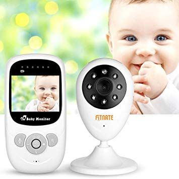 Baby Monitor 2.4 With Camera Video LCD Two Way Talk Audio Night Vision Temperature System