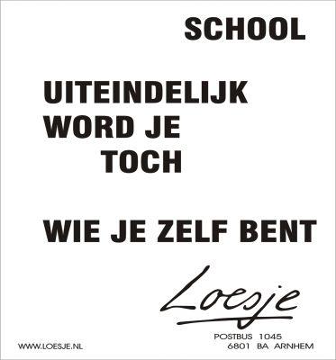Passend Onderwijs ;-)