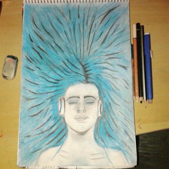 Dj draw hair