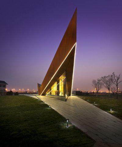 Trippel V Pavillion, CHINA