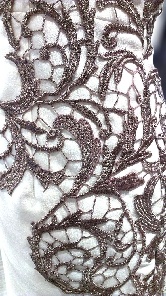 Intricate Lace Detail by Noel Crisostomo at MYTH