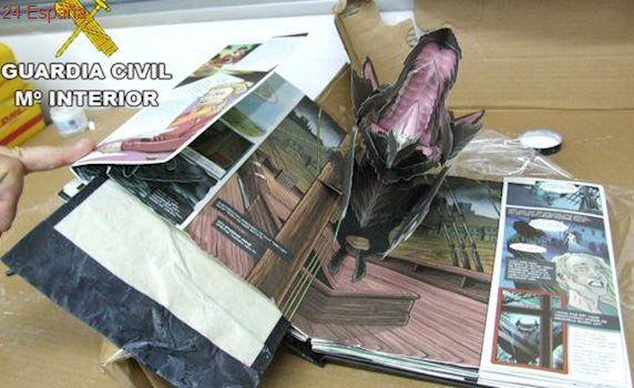 Exportaban anfetaminas, hachís y speed a Brasil ocultos en libros desplegables de «Drácula»