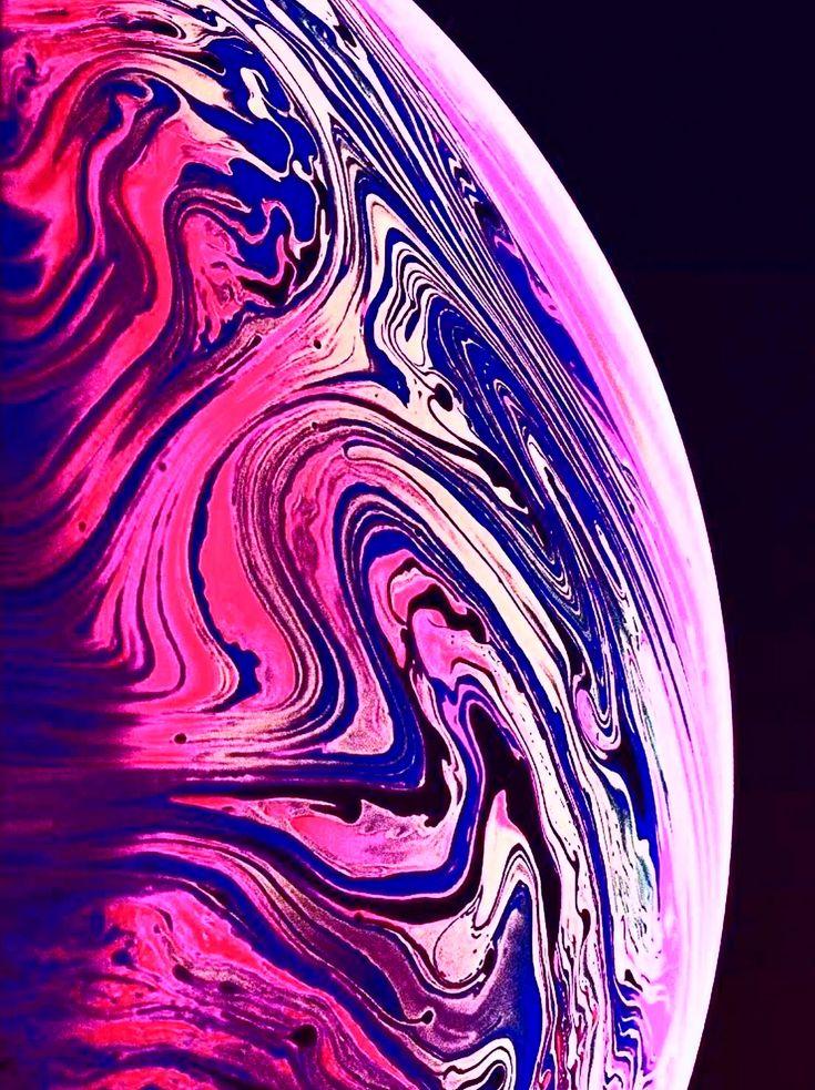 Картинка с планетой из рекламы айфон