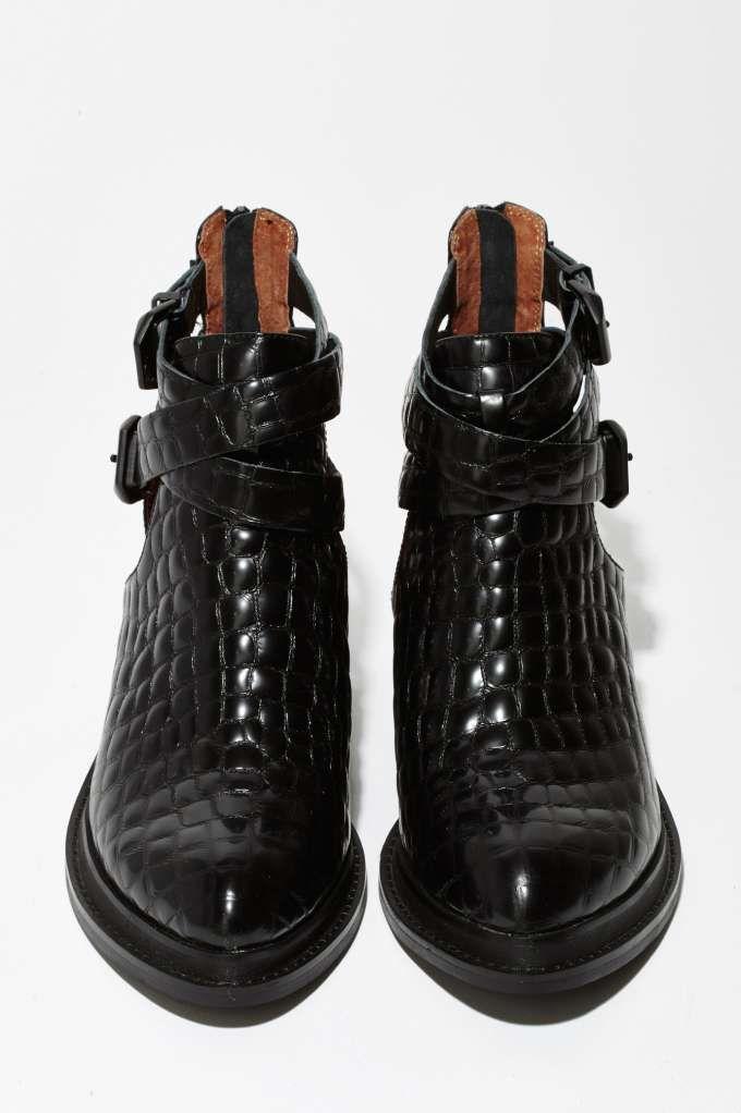 Jeffrey Campbell Sylvestr Leather Bootie - Sale: 30% Off | Boots