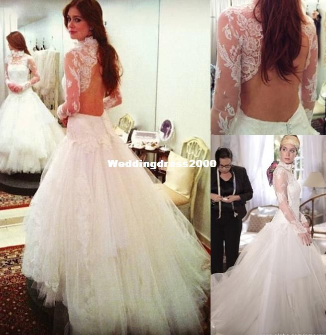 315 best images about wedding dress on pinterest for Wedding dress with swag sleeves