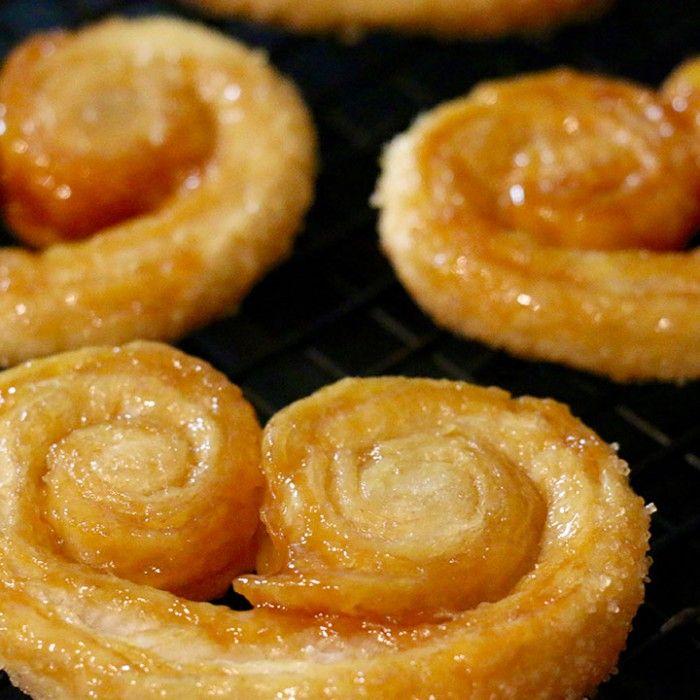 recette des palmiers caramel beurre salé et cassonade maison facile