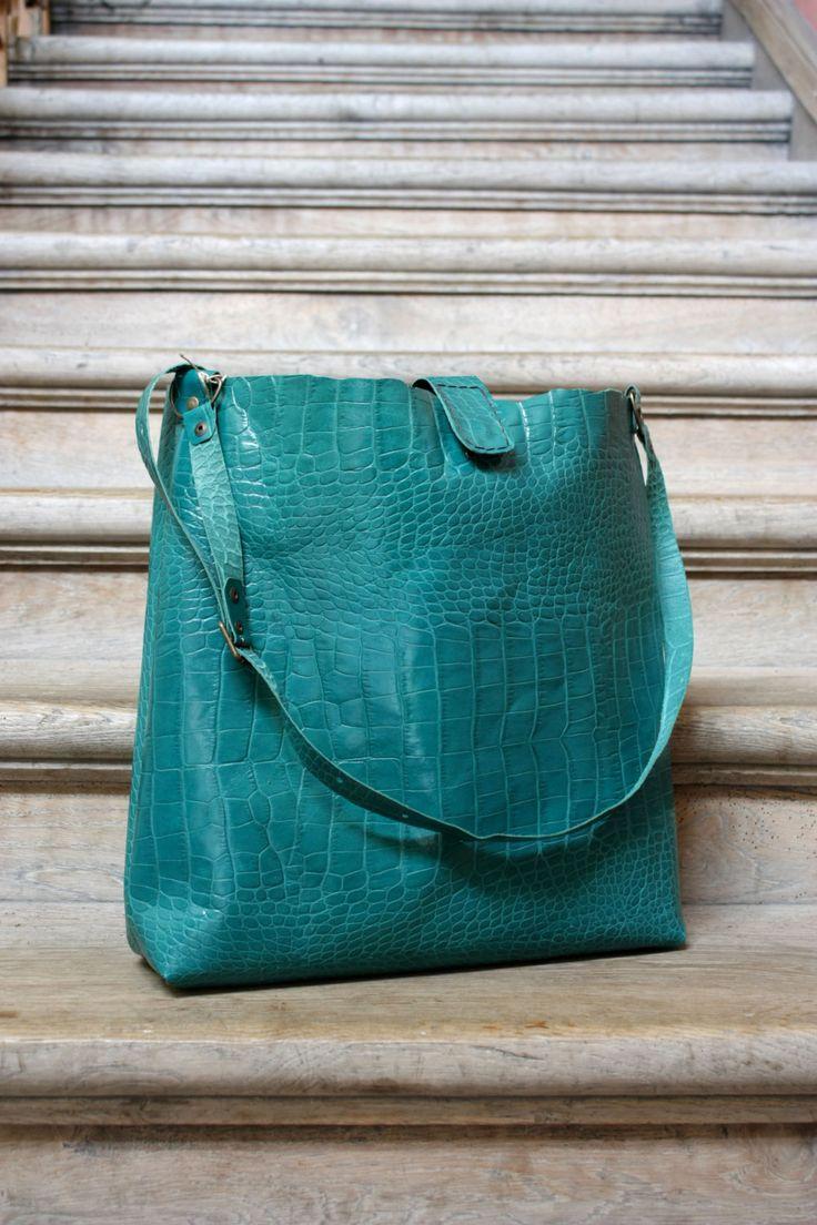 SALE!!! -30%!!! Leather bag, Blue bag, Handbag, Unusual, Unique, Navaho by clothesNavaho on Etsy