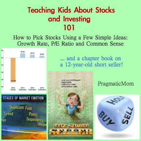 Teaching Kids About Stocks and Investing :: PragmaticMom Forget kids, I need it dumbed down for me!