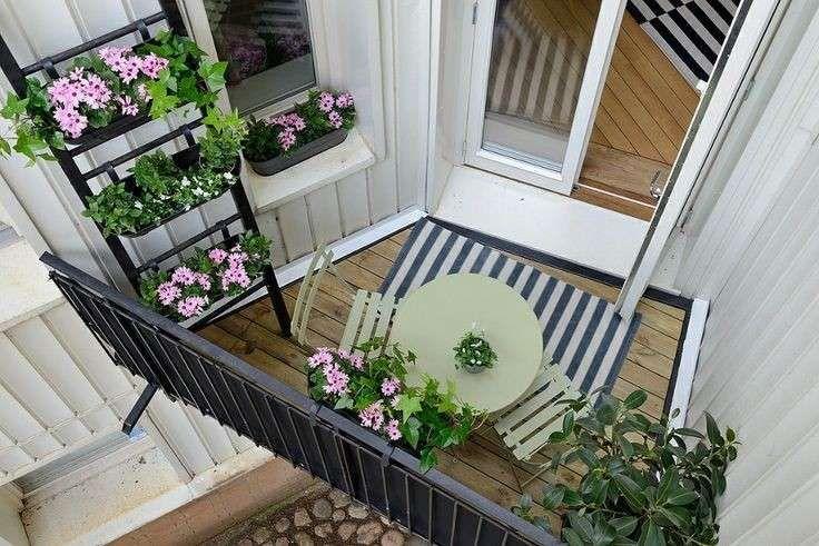 Arredamento balcone di casa - Fiori e pianti per arredare il balcone