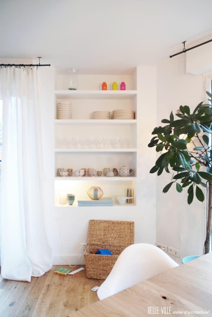Descubra fotos de Salas de estar escandinavas por Belle Ville Atelier d'Architecture. Encontre em fotos as melhores ideias e inspirações para criar a sua casa perfeita.