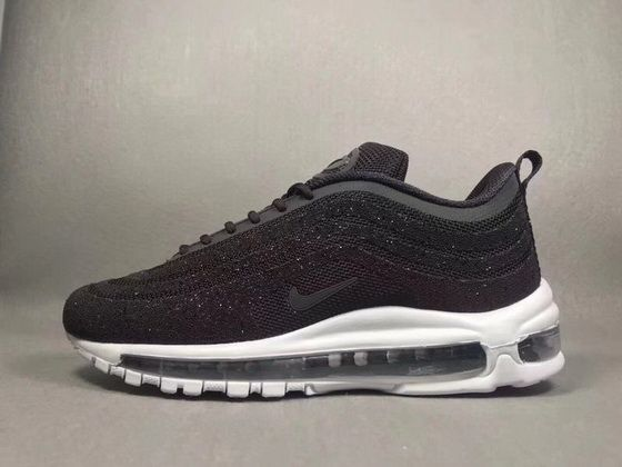 Nike Air Max 97 Lx Swarovski Crystal Lux Black White 927508001 Official  2018 Sneaker e1555ba23a