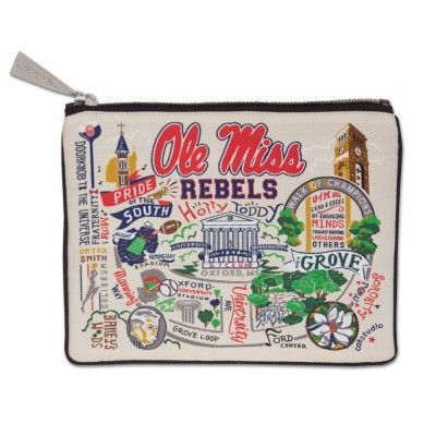 MISSISSIPPI, UNIVERSITY OF (OLE MISS) COLLEGIATE POUCH