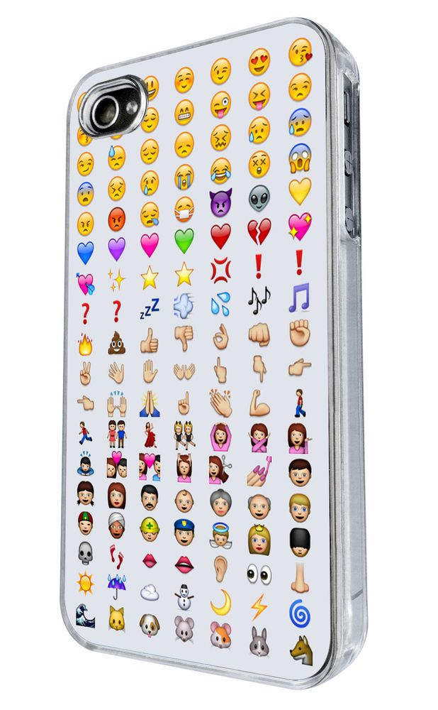 Cool Smiley Faces emoji Funky Design iphone 4 4S Case Back Cover