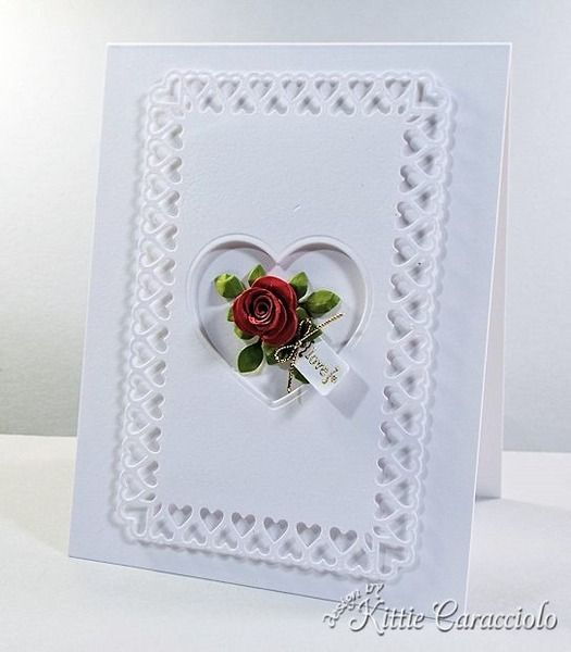 Clean and Simple Valentine by kittie747 - Cards and Paper Crafts at Splitcoaststampers