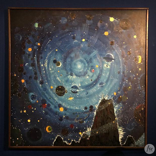 Em Paris, o Museu d'Orsay traz a exposição Au-delà Des Étoiles e aproxima grandes artistas dos mistérios da existência, mostrando a união com o cosmos.