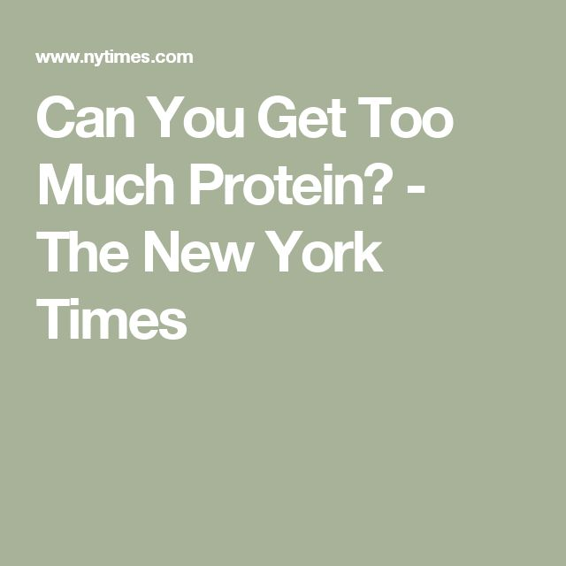 Can You Get Too Much Protein? | Celiac, People eating, Disease