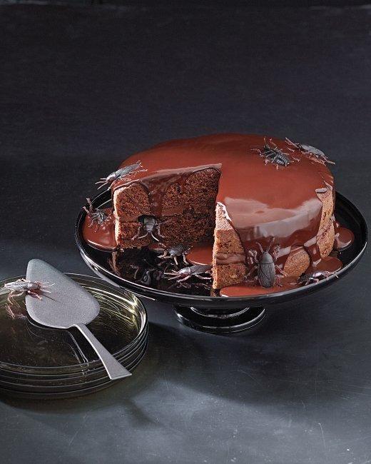 creepy crawly cake - Scary Halloween Cake Recipes