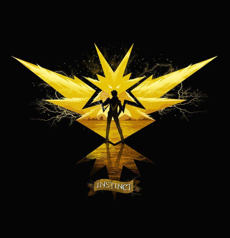 New Fan Art Created by Dan Elijah Farjado | Team Instinct : pokemongo