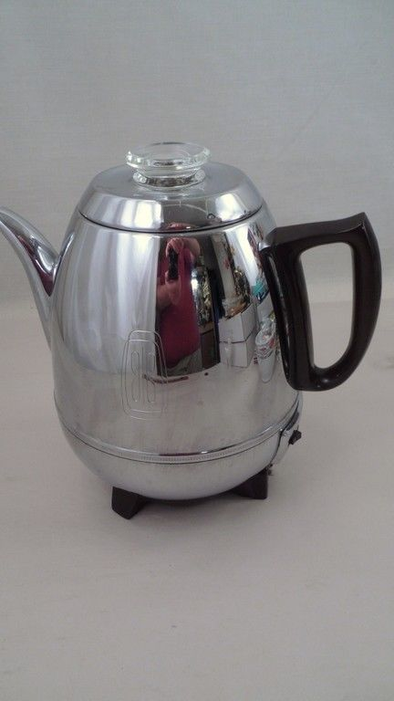 25+ best ideas about Percolator Coffee Maker on Pinterest Vacuum coffee maker, 1970s and ...