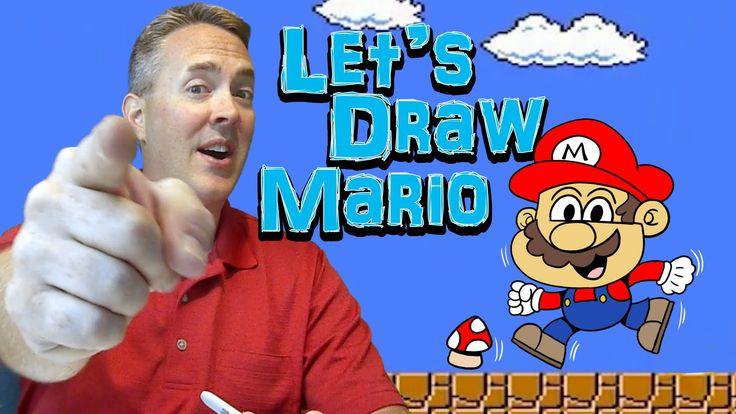 Let's Draw Mario - Harptoons