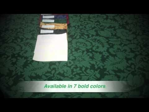 Doncaster Damask Tablecloth