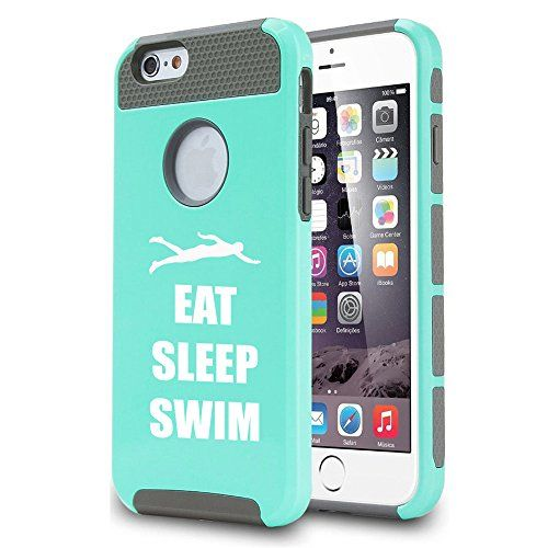 Apple Apple iphone seven Shockproof Effect Tricky Smooth Case Go over Eat Rest Swim Swimmer (Teal) - http://howto.hifow.com/apple-apple-iphone-seven-shockproof-effect-tricky-smooth-case-go-over-eat-rest-swim-swimmer-teal/ #iphone6scase,