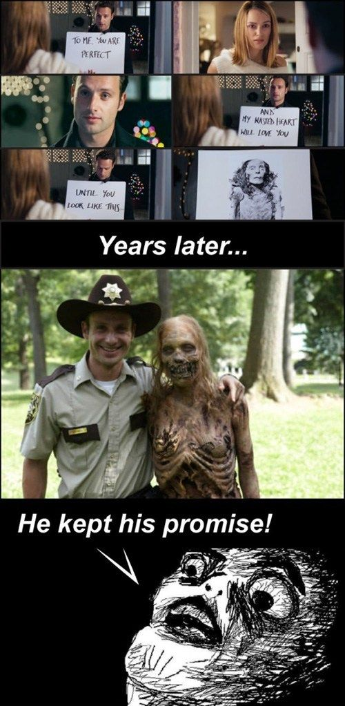 love actually and the walking dead