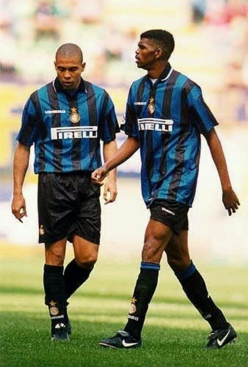 Ronaldo & Nwankwo Kanu