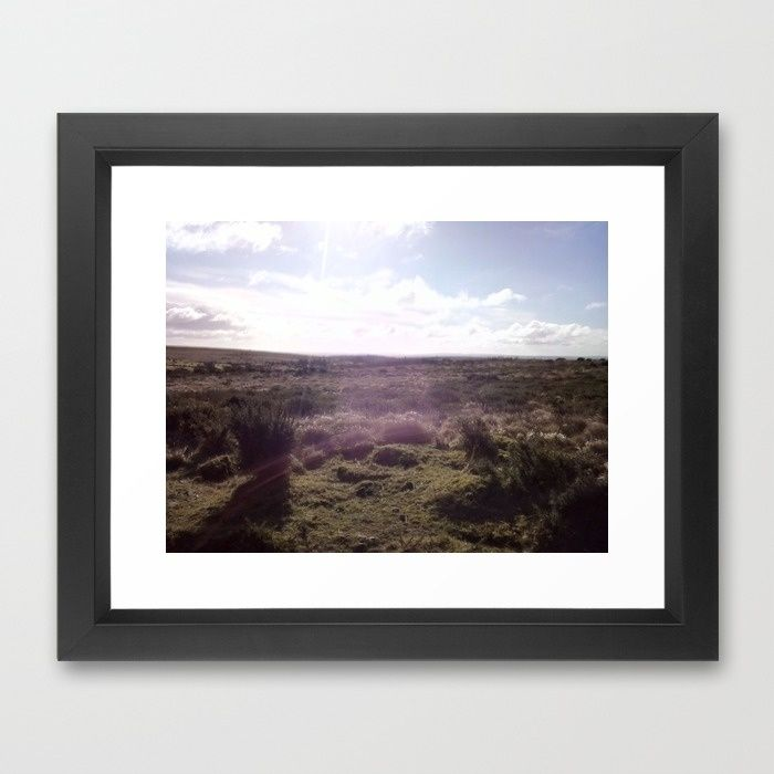 Morning on the Range Framed Art Print