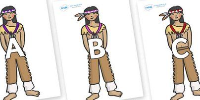 Preview: A-Z Alphabet on Native Americans