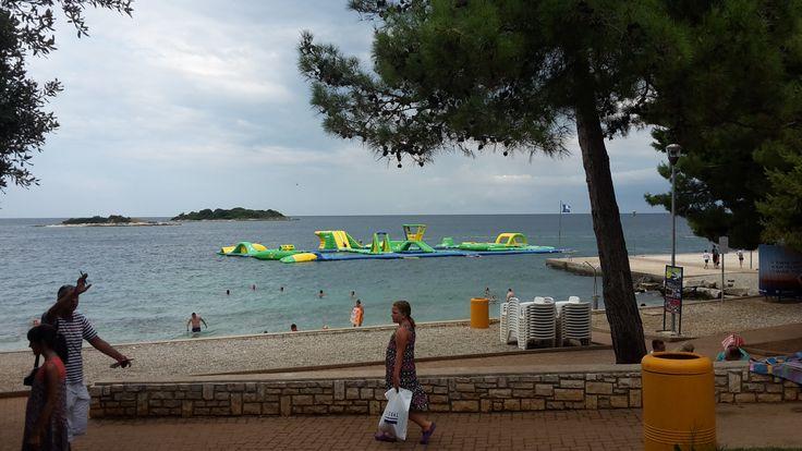 Laguna Poreč - beach